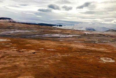 Red Geothermal Field Hverir