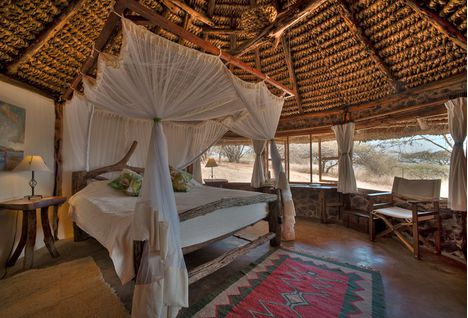 Lewa House room