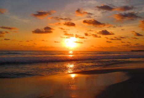 Nihiwatu Beach sunset