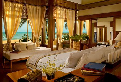 bedroom at tanjong jara resort