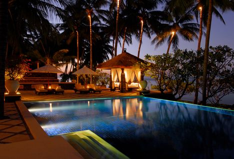 spa village tembok pool