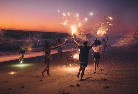 new years eve on a beach