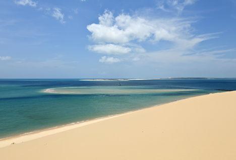 beach in Mozambique