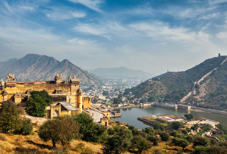 amber fort river
