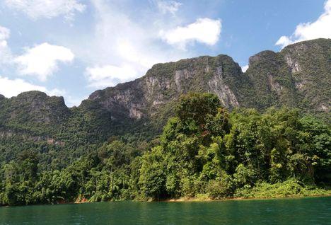 khao sok landscape