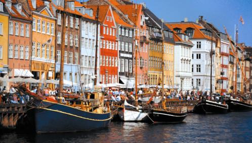 Nyhavn Waterfront, Copenhagen