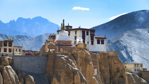 A beautiful Monastery in Ladakh