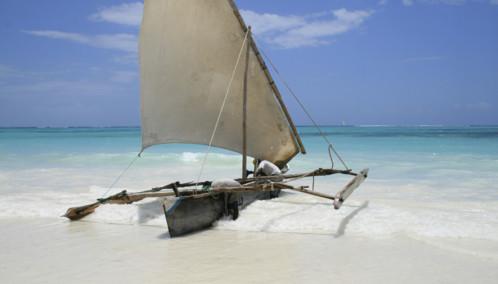 Zanzibar Beach Boat