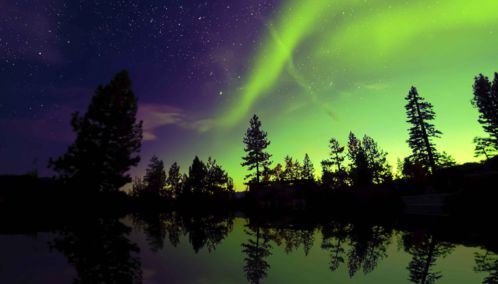 Northern Lights, Sweden