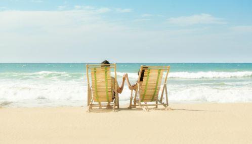 Beach Couple, Spain