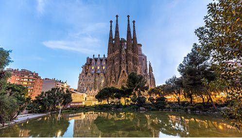 The Sagrada Familia in Barcelona