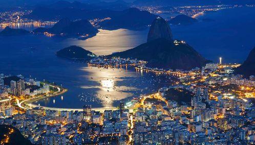 Rio de Janiero by night