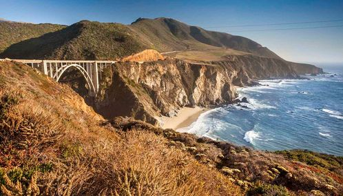 Bixby Bridge, California