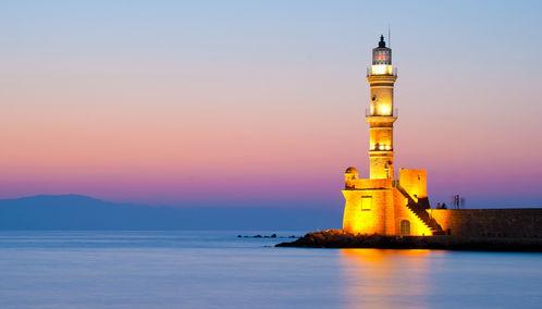 Chania lighthouse, Crete