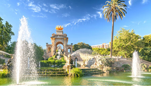 Fountain of Parc de la Ciutadella