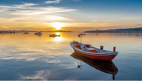 Aegean Sea fishing boats