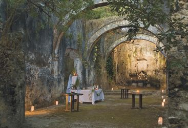 Chapel at Hacienda Uayamon, luxury hotel in Mexico