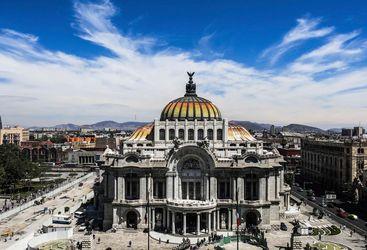 Palace des Beaux Artes, Mexico City