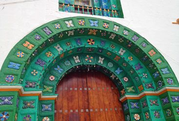 Doorway to San Juan de Chamula