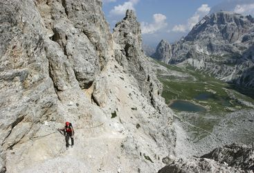Dolomites Via Ferrata, Walking Safari