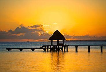 Kia Ora sunset