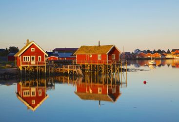 Rorbu in Northern Norway