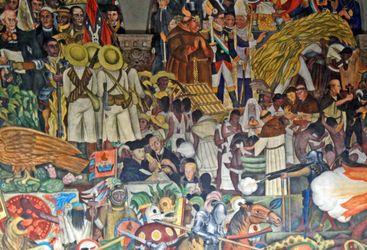 Mural, Mexico City