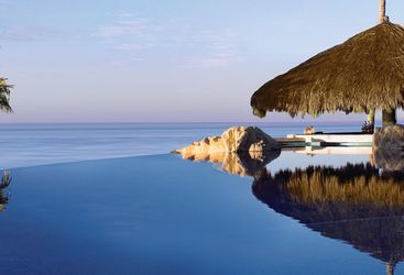 The pool at One & Only Palmilla, luxury hotel in Mexico