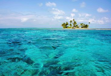 Tropical Island in Belize