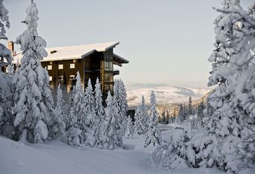 Winter at Copperhill Mountain Lodge, luxury hotel in Sweden