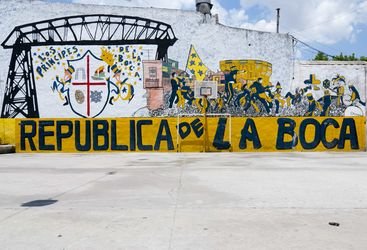 Le Boca, Argentina