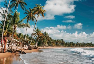 The beach at Bahia