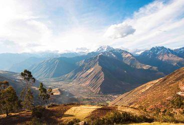 Sunlight on the Sacred Valleys