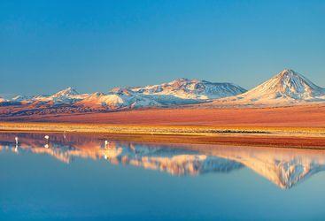 A Lake in the Atacama Desert