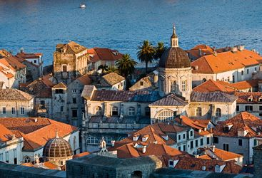 Towers and roofs of Dubrovnik