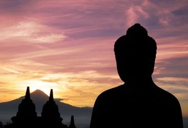 sunrise borobudur indonesia