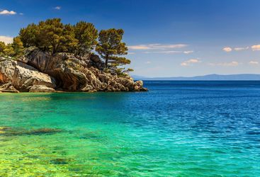 Croatian coast scenery