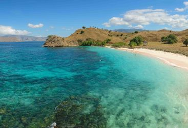 Komodo Island Beach view