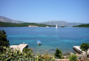 Ocean view at Lesic Dimitri Palace, luxury hotel in Croatia