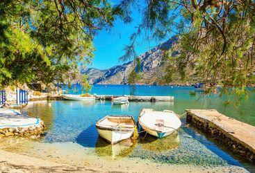Boats in Crete