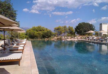 Swimming Pool at the Amanzoe