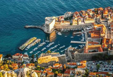 Harbour in Dubrovnik