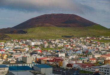 Heimaey volcano