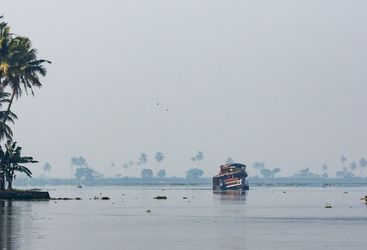 lake Vembanad, India