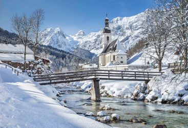Alpine church in Austria