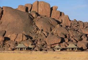 Wolwedans Boulders, luxury camp in Namibia