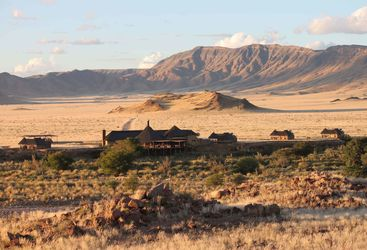 hoodia desert lodge view