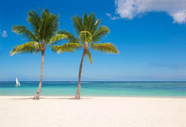 Mauritius beach honeymoon