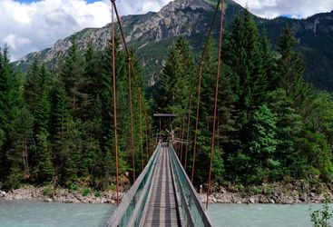 Lech Valley bridge