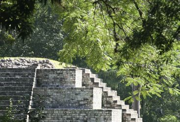 Pyramids in Honduras